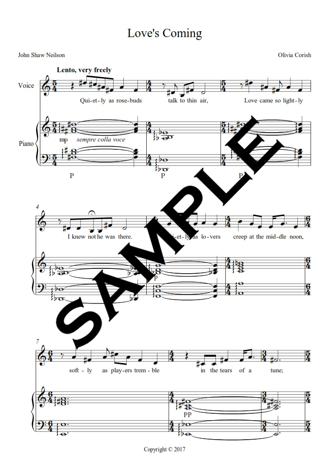 All Music Chords sheet music shenandoah : Classical – Olivia Corish Music